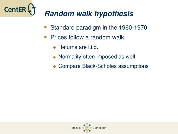 essay of random walk A random walk down wallstreet essay 3881 words | 16 pages a random walk down wall street there is a sense of complexity today that has led many to believe the individual investor has little chance of competing with professional brokers and investment firms.