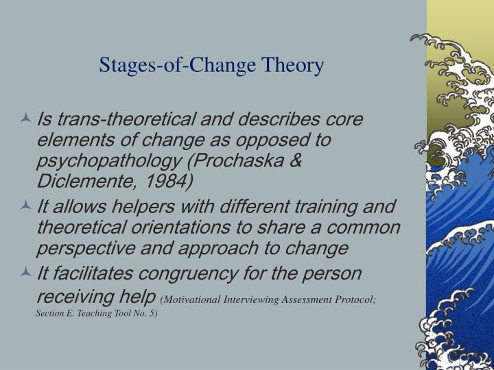 Stages-of-Change Theory