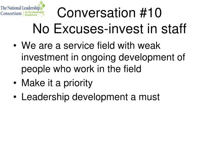 Conversation #10