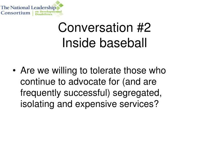 Conversation #2