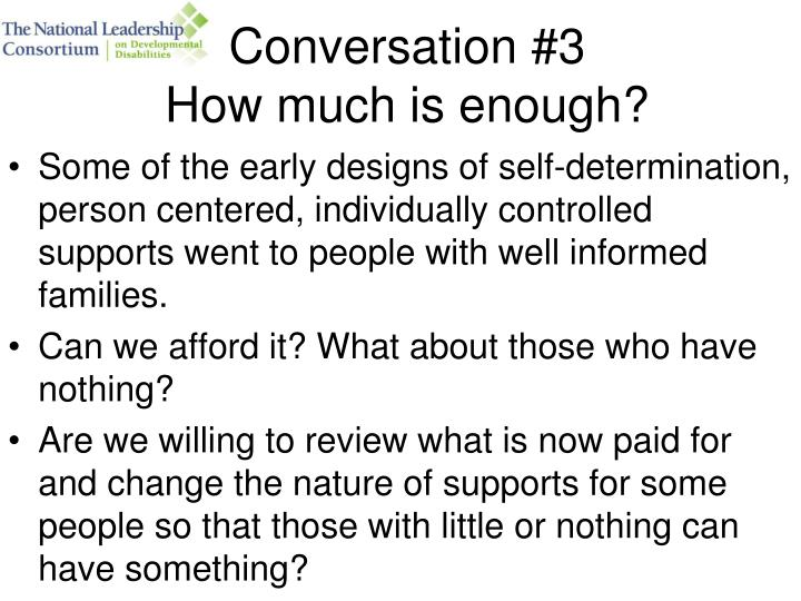 Conversation #3