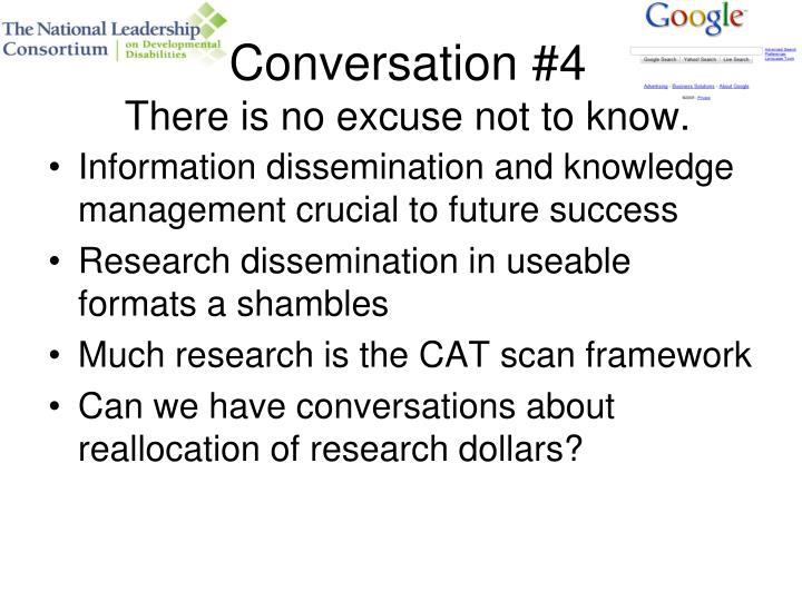 Conversation #4