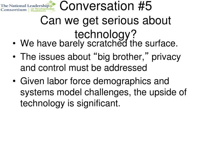 Conversation #5