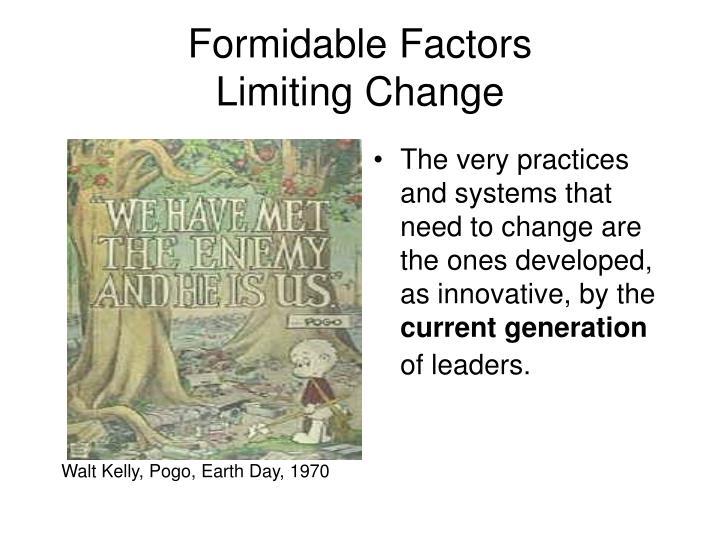 Formidable Factors