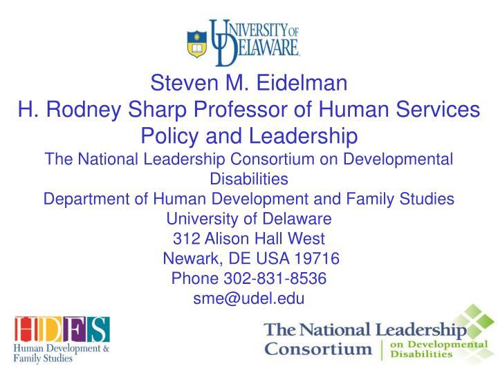 Steven M. Eidelman