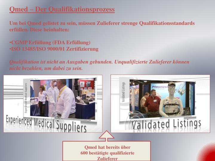 Qmed – Der Qualifikationsprozess
