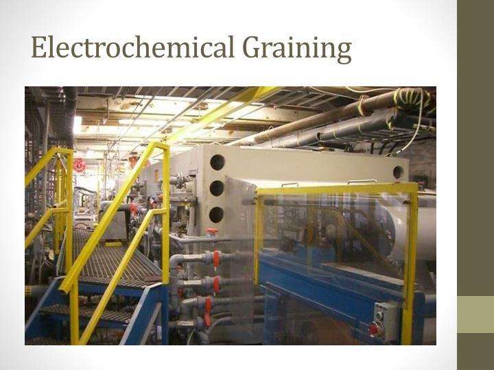 Electrochemical Graining