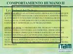 comportamiento humano ii10
