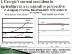i georgia s current conditions in agriculture in a comparative perspective1