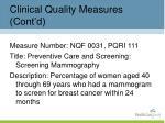 clinical quality measures cont d1