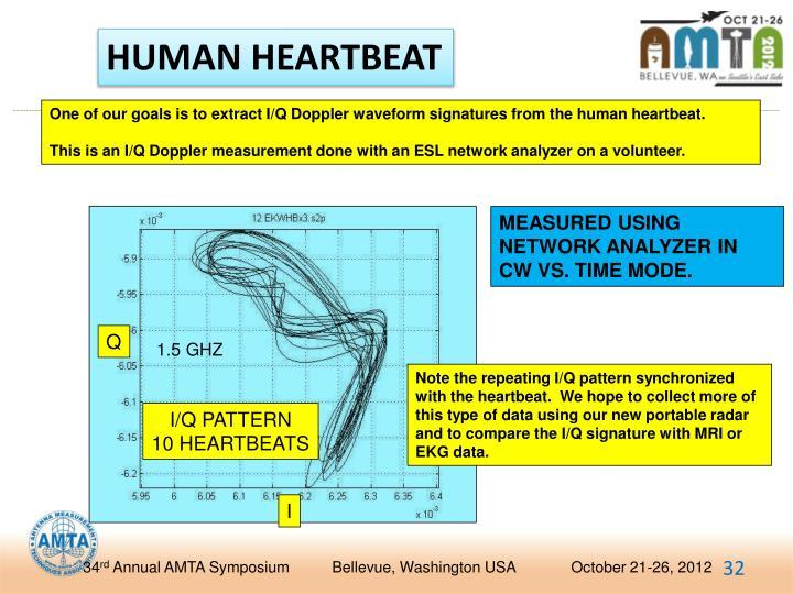 HUMAN HEARTBEAT