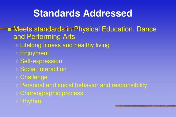 Standards Addressed