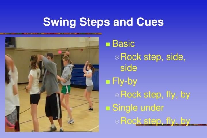 Swing Steps and Cues
