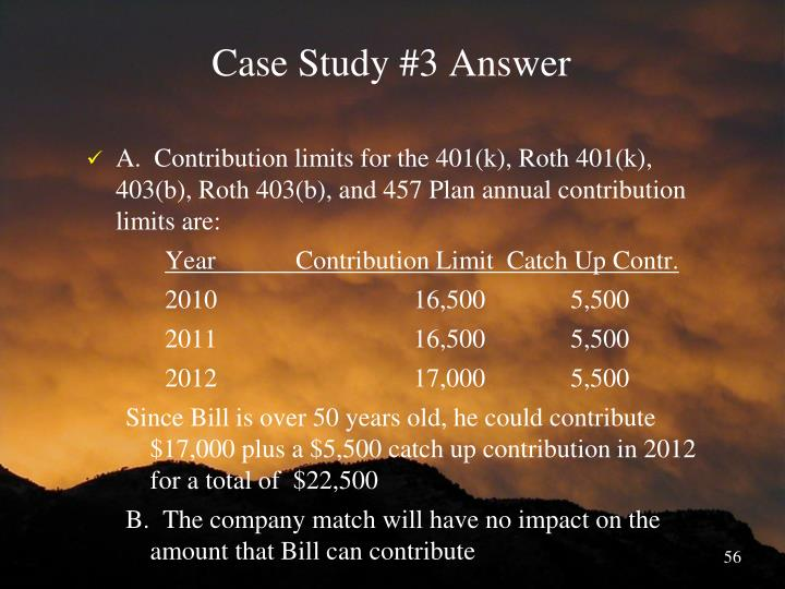 Case Study #3 Answer