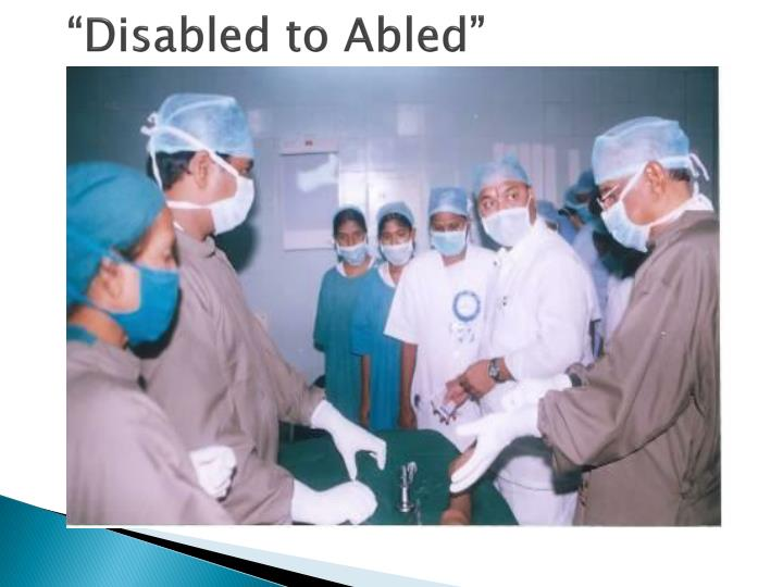 """""""Disabled to Abled"""""""