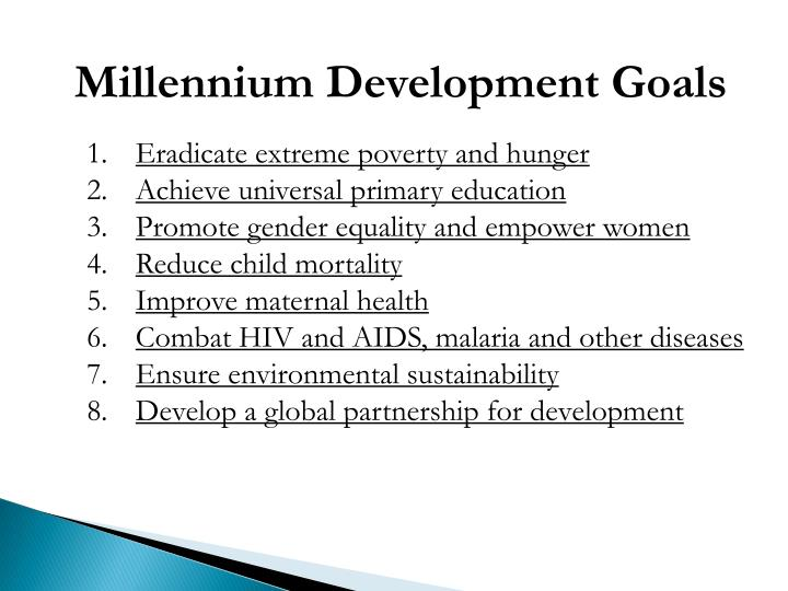 millennium development goal of primary education essay The millennium development goals are classified into eight: eradication of poverty and hunger, realization of universal primary education, promotion of gender parity and empowering women, reduction of child death, improvement of maternal wellbeing, fighting against malaria, hiv/aids and other diseases, ensuring development sustainability.