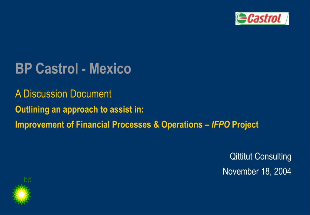 ppt bp castrol mexico powerpoint presentation id 5191634