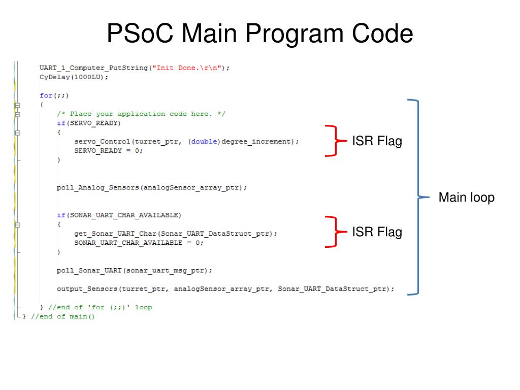 PPT - Programmable System-on-Chip (PSoC) General Overview