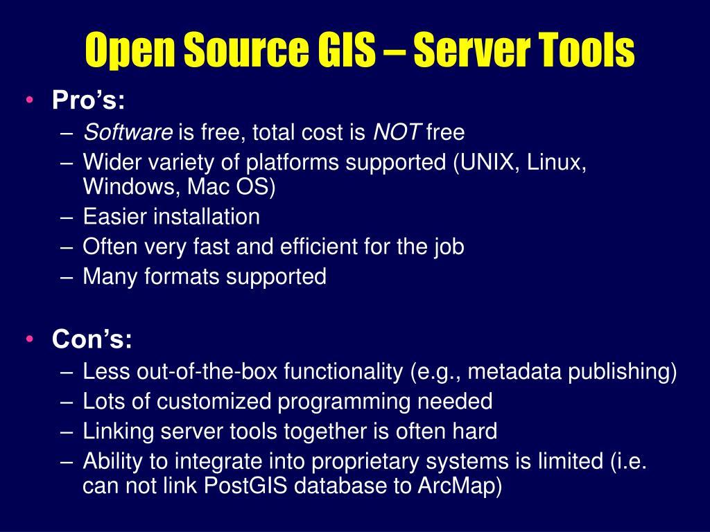 PPT - Internet Map Servers ( Web GIS ) PowerPoint