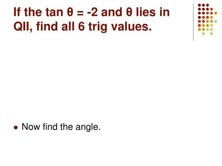 If the tan