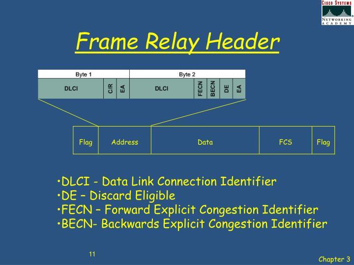 Frame Relay Header