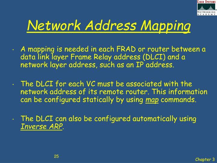 Network Address Mapping
