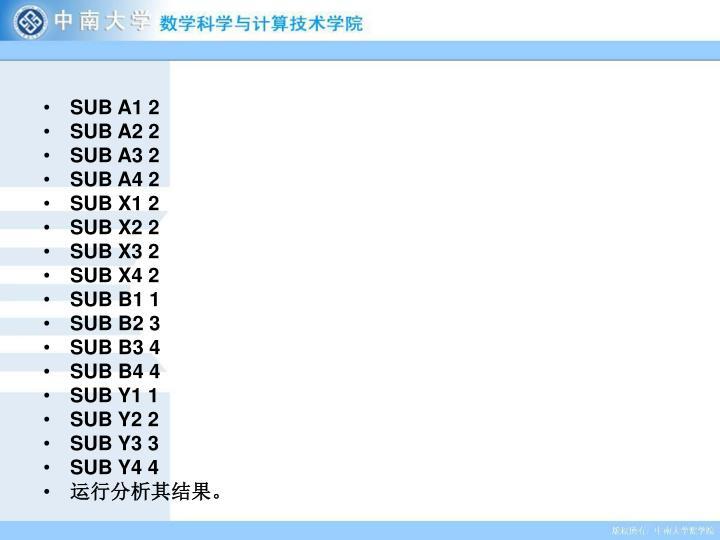 SUB A1 2