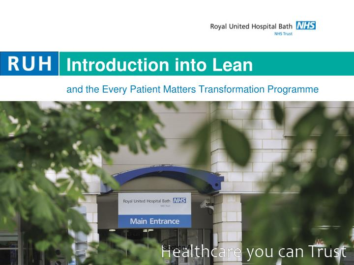 introduction into lean n.