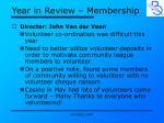 year in review membership2