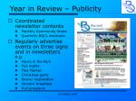 year in review publicity1