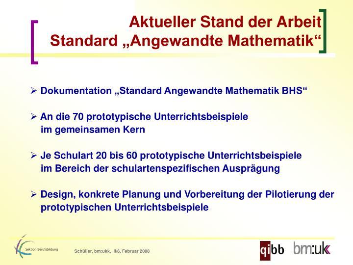 Großartig Standard Mathematik Galerie - Mathematik & Geometrie ...