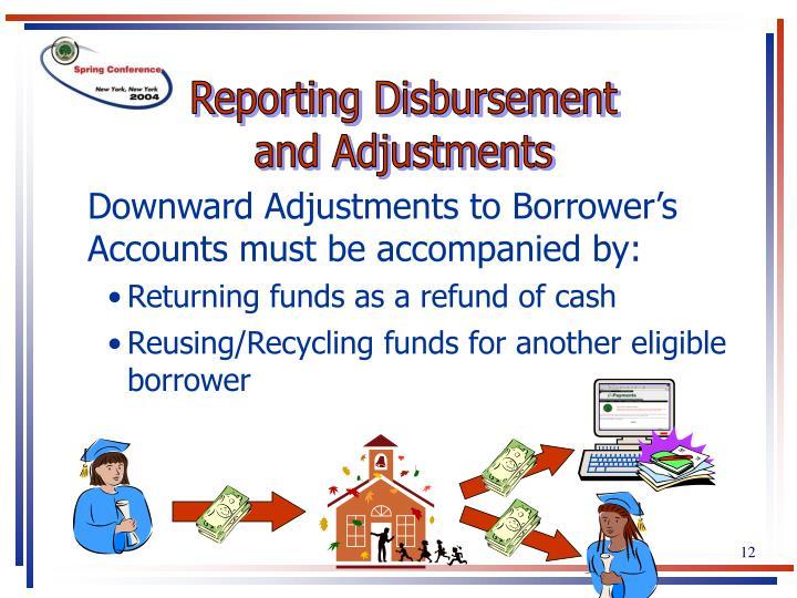 Reporting Disbursement