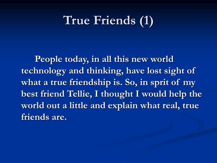 True friends 1