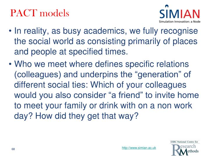 PACT models