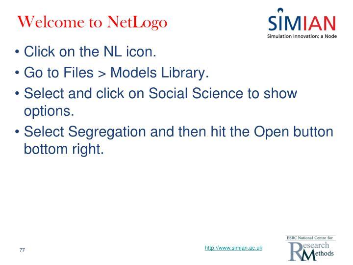 Welcome to NetLogo