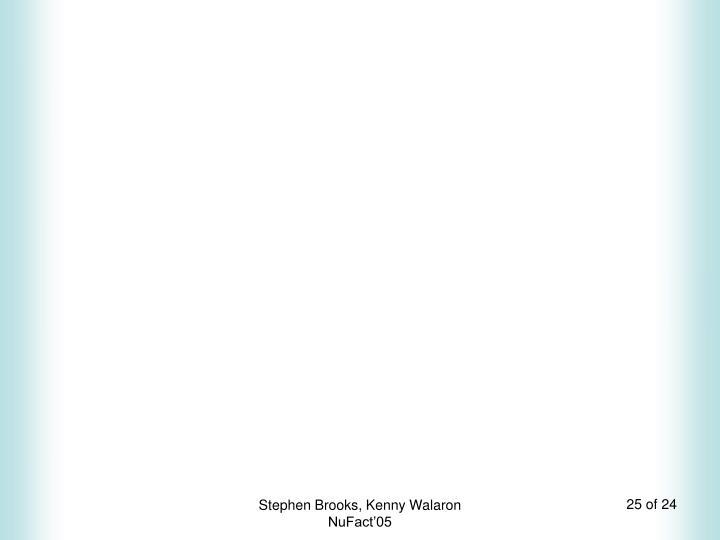 Stephen Brooks, Kenny Walaron