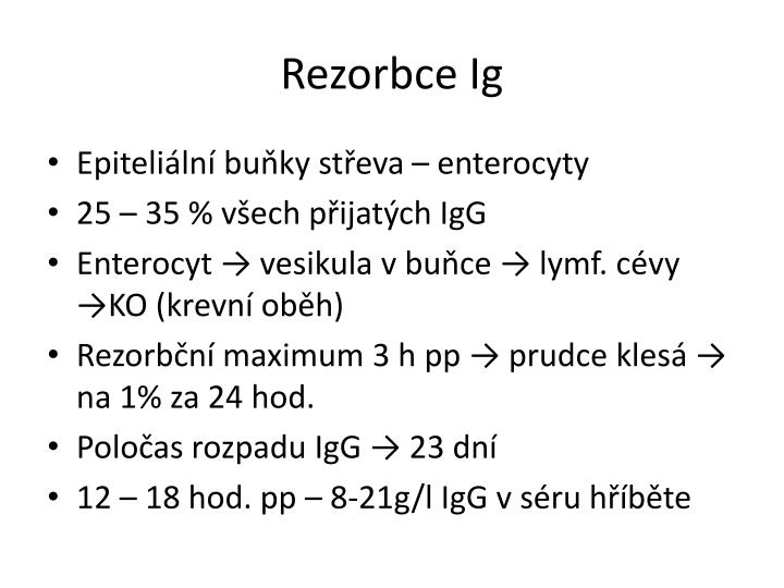 Rezorbce Ig