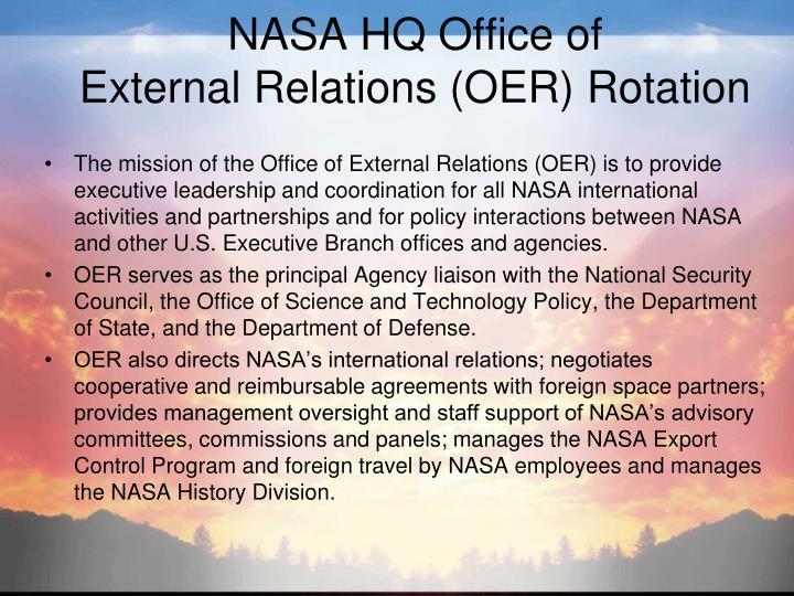 NASA HQ Office of