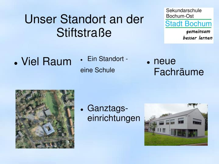 Unser Standort an der Stiftstraße