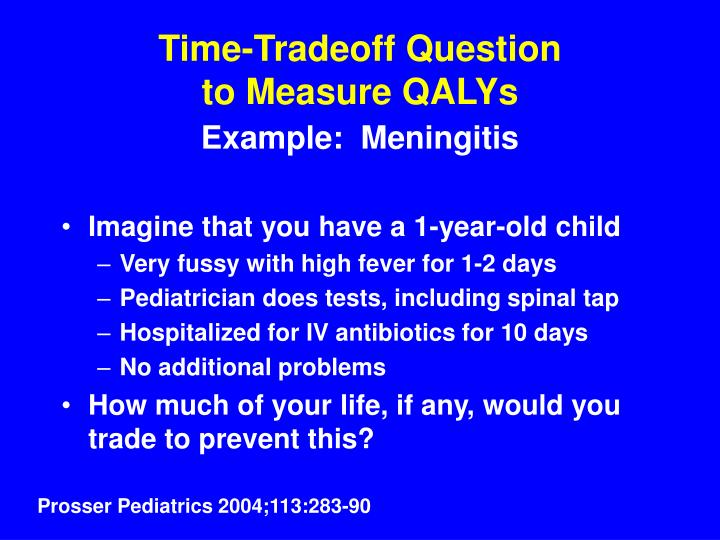 Time-Tradeoff Question