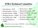 stba technical committee