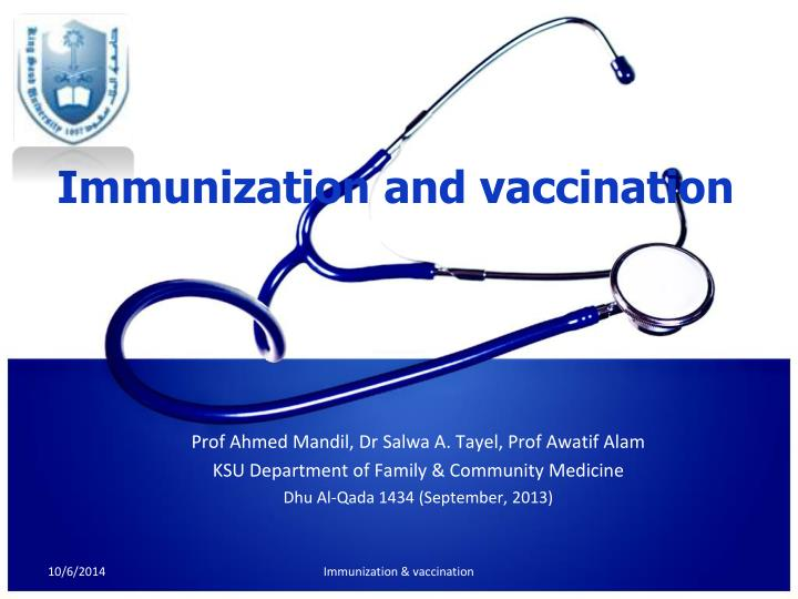 Ppt immunization and vaccination powerpoint presentation id immunization and vaccination toneelgroepblik Images