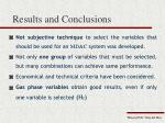 results and conclusions4