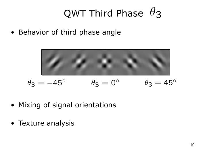 QWT Third Phase