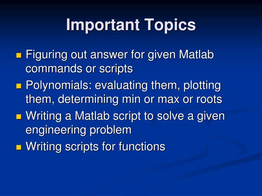 PPT - Matlab Review PowerPoint Presentation - ID:5194406