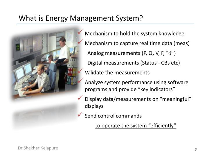 What is Energy Management System?
