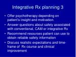 integrative rx planning 3
