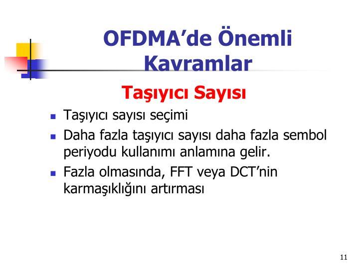 OFDMA'de Önemli Kavramlar