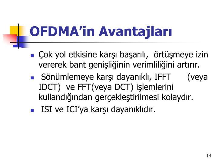 OFDMA'in Avantajları