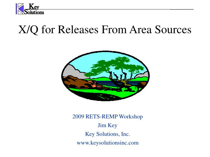 X q for releases from area sources